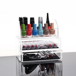 Custom Makeup Organizer Storage Box With Drawers