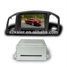 Высокой четкости двухъядерный автомобильный навигатор для Опель Инсигния/Бьюик Регал с GPS и 3G/ДВД/блютус/док/Формат RMVB/РДС
