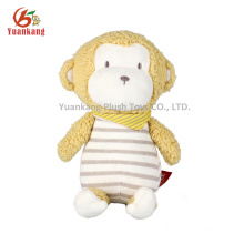 25cm Custom Friendly Mini Plush Monkey Toy for Girl