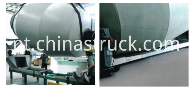 HINO concrete mixer truck advanced and durable tanks