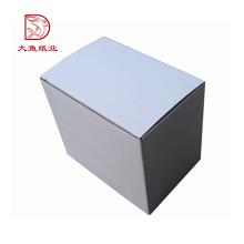 Fabrication professionnelle extérieure recyclable usine carton boîte faisant