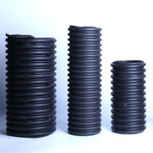HDPE Black plastic Corrugated Agricultural Drip pipe
