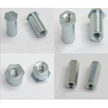 Galvanized Pressure Riveting Nut Column Hexagon Stud (ATC-301)