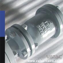 Válvula de liberación de aire de un solo orificio 311 de acero inoxidable 318 Ss304