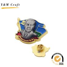 Zinklegierung Fertigen Sie Metallabzeichen mit dem Prägedruck besonders an