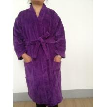Erwachsener Velour Kimono Bademantel