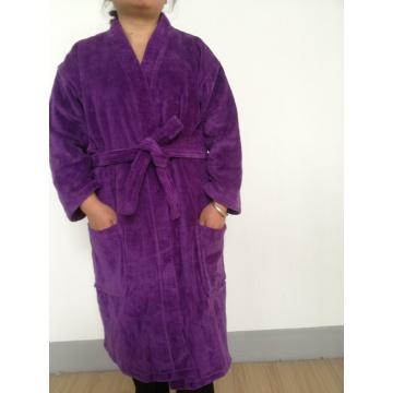 Adult Velour Kimono Bathrobe