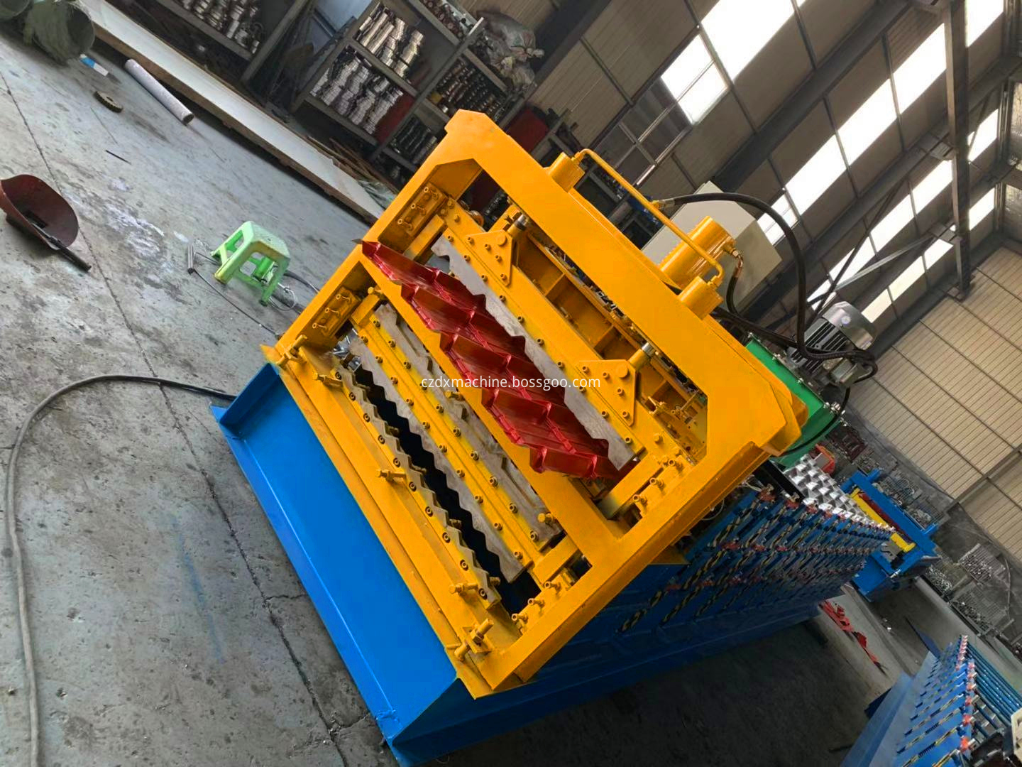 roof three roll forming machine