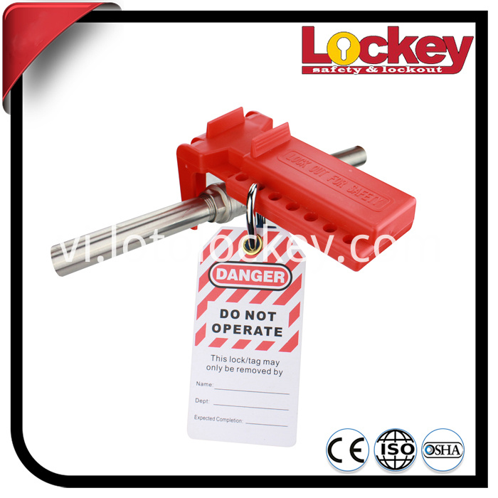 Safety PVC Lockout Tag