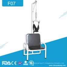 Chaire médicale de traction lombaire de thérapie de spondylose cervicale de l'hôpital F07