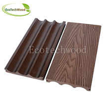 Cheap & Solid Emboss WPC Decking with Professional Cerfificates