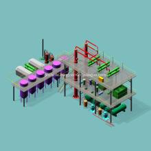Automatische Rohöl-Raffinerie-Ausrüstung für Verkauf