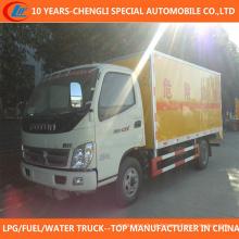 Caminhão de Van de transporte de mercadorias perigoso 6tons 8tons para venda