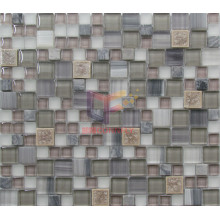 Latest New Design for Ceramic Mix Marble Crystal Mosaic (CS258)