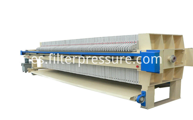 Starch Chamber Membrane Filter Press 2