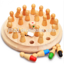 Montessori Wooden Memory Developing Compete Chess