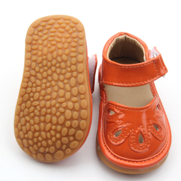 Squeaky Shoes Hard Sole Kids Shoes