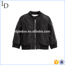 Blank high quality bomber jacket boy stylish fashion kids coat