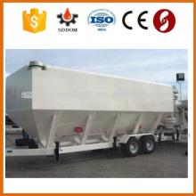 Tipo superior de la marca de fábrica de SDDOM fabricantes del silo del cemento de la rueda horizontal, silo móvil del cemento para la venta