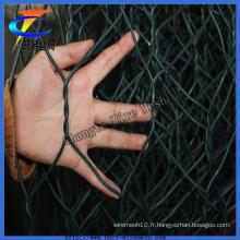 Gabion de fil de PVC Gabion pour escompte