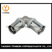 Elbow Forged Brass and Stainless Steel Press Pipe Fittings (YS3207)