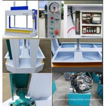 Máquina hidráulica de impressão a frio de madeira