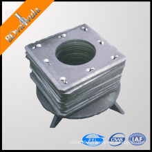 Square pipe pile end plate lowest price