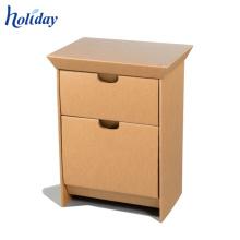 Cabinet de papier de plancher de l'Assemblée quatre avec la grille de division, meubles de papier de support de plancher