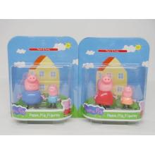 Nova boneca de brinquedo de plástico de porco rosa com en71 (h9544205)