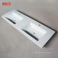 lavatório de design moderno pia de banheiro superfície sólida