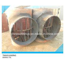 Terminado tratamiento térmico API 5L X60 de acero al carbono Barred Tee