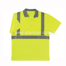 Class 2 T-Shirt with Moisture Wicking Orange