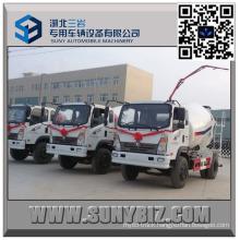 Sinotruk King 3 M3 Mini Concrete Mixer Truck
