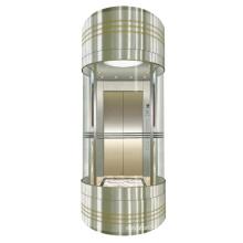 High Quality  mini glass sightseeing elevator