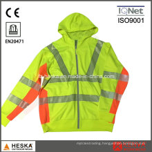High Visibility Heat Transfer Tape En20471 Sweatshirt