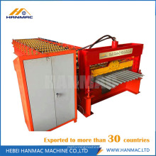 Colored Steel Corrugated Sheet Metal Roll Forming Machines