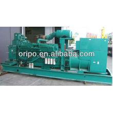 Grande poder! Preço industrial do gerador 1000kva / 800kw com motor diesel de Cummins kta38-g5
