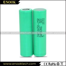 Hot sale Samsung 25R 2500mAh E-cig Battery