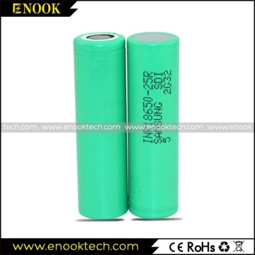 Original 25R Samsung Li-ion Cell