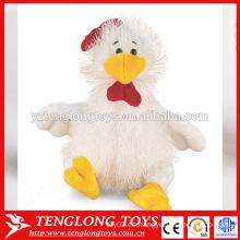 Regalo promocional para 2017 juguete relleno sentado gallo
