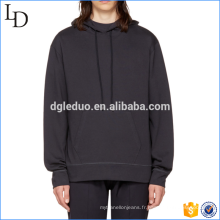 Hot vente hommes 100% coton hoodies avant poche sweat-shirts