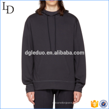 Hot sale mens 100% cotton hoodies Front pocket sweatshirts