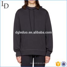 Venda quente mens 100% algodão hoodies frente bolso camisolas