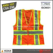 Hi Vis ANSI107 Safety Reflective Vest