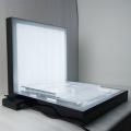 Acryl Kosmetik Display Ständer High Bright Freestanding für Hautpflege Werbung