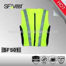 safety product hot hip hop running blank logo sport wear bike jersey cycling vest