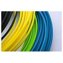 Manga trenzada trenzada colorida del cable
