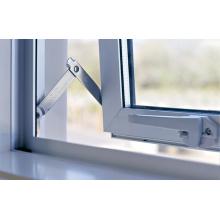 Royal Ivory Powder Coat portas de alumínio de vidro duplo e janelas