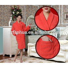 Good quality coral fleece Bathrobes for Women, women fleece bathrobe wholesale