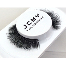 wholesale 100% human hair eyelashes false eyelash human hair eyelashes